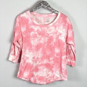 Sonoma Pink Tie Dye Shirt